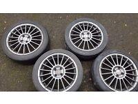 Fox racing alloys (4 x 100 PCD)