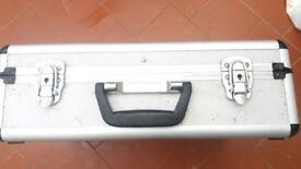 Aluminium tool storage case