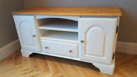 Gorgeous solid wood TV unit