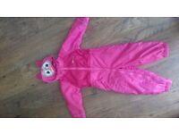Girls Regatta puddle suit age 2-3
