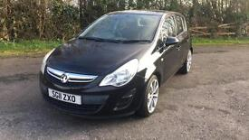 Vauxhall corsa 2011 eco flex ss 1.3 CDTI 51k new mot £30yr tax alloys aux a/c