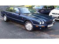 Jaguar V8 XJ Sport 3.2 4dr Auto, 73,000 miles in Metallic Blue