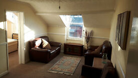1 BED FULLY FURNISHED FLAT TO LET - AVAILABLE IMMEDIATELY NO DEPOSIT OR FEES- HEADLAND HARTLEPOOL