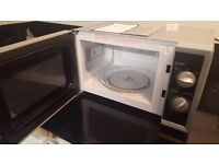 Morphy Richards 20L 800W Solo Microwave - Silver -black