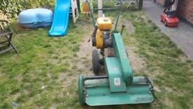 Ransomes mower lawnmower . Multimower . Not ride on mower