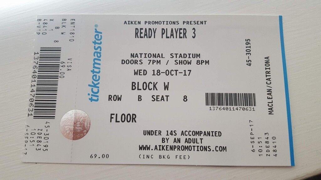 Ready Player 3 VIP (Game Grumps/Jacksepticeye) - Dublin