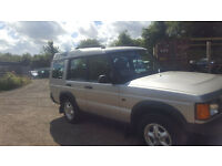 LAND ROVER DISCOVERY TD5 AUTOMATIC. TOWBAR. 7 SEATER. 2000. MOT DECEMBER. SILVER. 183000 MILES