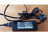 Original HP 90W watt laptop charger / adapter with power cable