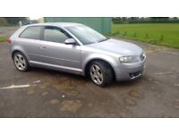 Audi A3 1.6 se spares or repairs,px swaps why
