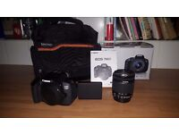 Canon EOS 700D Digital SLR Camera (EF-S 18-55 mm f/3.5-5.6 IS STM Lens, 18 MP, 3 inch LCD)