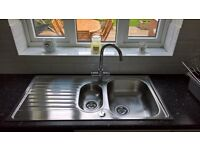 Carron Phoenix Contessa Kitchen Sink - 1.5 Bowl
