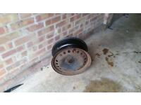 "Steel wheels X4. 15""/16"""