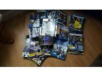 Everton progs and mags