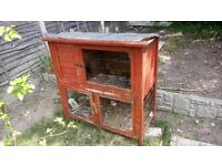 Rabbit hatch as seen in picture double storey rabbit hatch
