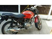 125cc kymco running project