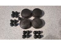 Ford Transit mk6 mk7 Centre Caps And Nut Covers