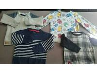 Boys jumpers and shirt