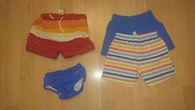 Baby Boy Clothes / 12- 18 months / 4 shorts
