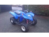Adley/Motoroma 150 auto quad bike. Road registered