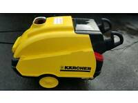 Hot and cold karcher pressure washer
