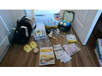 Medela Freestyle double breast pump set