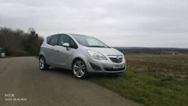 Vauxhall meriva 1.4 turbo SE