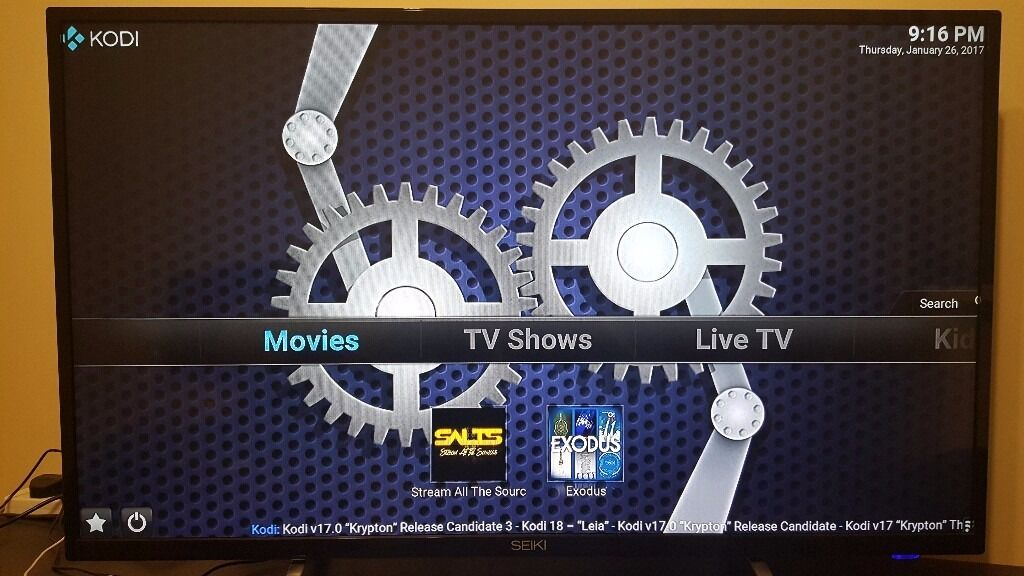 kodi live tv free movies