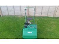 Qualcast Classic 43s Self Propelled Petrol Lawnmower Lawn Mower In Good Working Order – SEE VIDEO