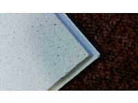 """Armstrong Dune Supreme Second Hand 60"""" x 60"""" white ceiling tile"""
