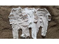 Bundle of Baby Clothes from The Essential One RRP £300 newborn to 9 months