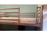 Highsleeper Bed with memory foam mattress and desk