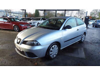 2007 07 SEAT IBIZA 1.2 REFERENCE 12V 3d 69 BHP, MOT OCT 2017, GREAT CONDITION