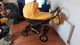 """""""CAMARELO """"3in1 stroller"""