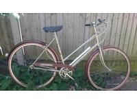 Ladies Triumph Traffic master - Retro bike - 3 speed hub