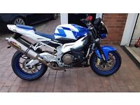 Aprilia Tuono 1000 cash or swap for 1000cc superbike
