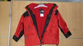 North Face 3 in 1 Goretex kids jacket age 5-7