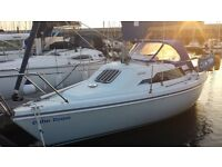 Hunter Horizon 232 built 1996, small cruising yacht in excellent condition with many recent upgrades