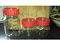 Glass Kilner Jars