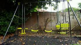 4 piece swing set Smyth's toy store new