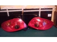Peugot 206 tail lights