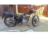 sanyo 125 cc motorcycle