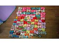 Joblot of girls Hair bows. 85 altogether all new
