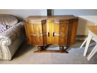 MAHOGANY SIDEBOARD, DRESSER, UNIT, CABINET MADE BY HARRISON GIBSON & CO,