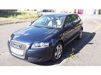 Audi A3 SE 2.0TDI 2007 Blue FSH