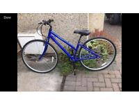 Apollo lovely ladies 18 speed hybrid bike only £70