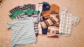 Bundle of 4-5yr boys clothes - good clean condition