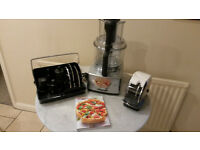 Magimix Food Processor Cuisine 4200 XL Auto. As new complete with box. Genuinely only used 3 times.