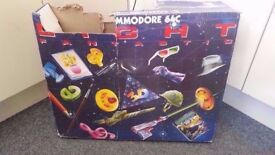 Boxed Commodore 64c Console and Games - Collection Only.