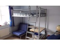 Bunk Bed / High Sleeper (by Jay-Be Single Bed, Bunk Bed with Desk & Single Futon)
