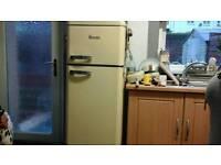 Vintage fridge freezer